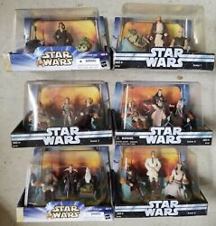 Star Wars Jedi High Council Complete Scenes Set Of 6 Clone Wars Temple Chamber