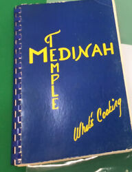 First Edition Shriners Medinah Temple Chicago Community Vintage Cookbook
