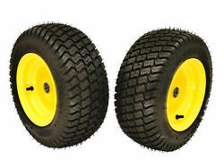 2 Front Wheel Assemblies For John Deere 100 Series 16x6.50-8 Replaces Gy20563