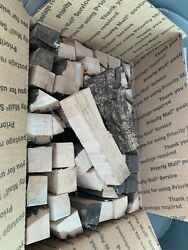 Hickory Wood Chips Chunks Smoking Bbq Grilling Cooking Smoker Approx. 10 Lbs