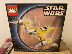 Lego 10026 - Star Wars Naboo Starfighter - New And Sealed