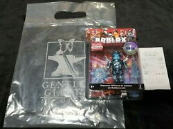 Sdcc 2019 Roblox Frostbite General Figure Rare Exclusive In Game Item Code Htf