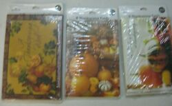 Thanksgiving Hallmark 8 Greeting Cards And Envelopes New Vintage Lot Of 3 D-5