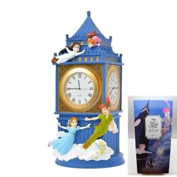 In Hand Disney Store Japan Peter Pan Clock And Accessory Case Story Collection A