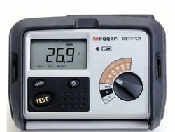 Megger Det4tc2 1000-345 Contractor Series Earth/ground Resistance Tester