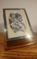 Lovely Quality Silver Manicure Set And Photo Frame Box By Sandm H/m Birmingham 1920