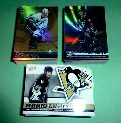 01/02 + 02/03 + 03/04 Pacific Complete Mcdonalds Hockey Sets W/checklists