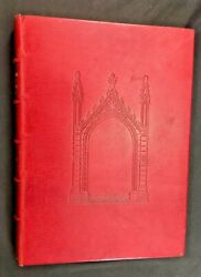 The Holkham Bible Picture Book 1/100 Signed Full Leather Dropmore London Fine