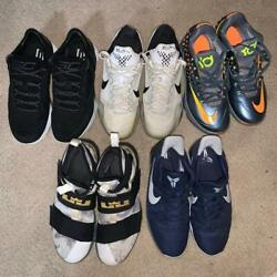 Big Box Of Athletic Men Shoes All Size 10 Pieces