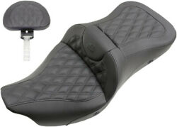 Seat Rs Ls Ext Rch Ht - Harley Davidson Glide Abs Road Ultra Electra - Saddlemen