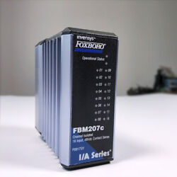 Foxboro I/a Series Invensys Fbm207c Po917gy Channel Isolated 16 Output 48vdc New