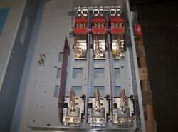 600 Amp Disconnect Fusible Safety Switch 600v -3 Phase