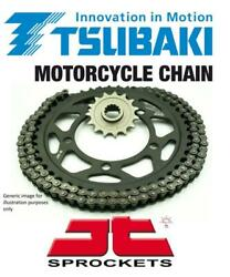 Tsubaki Sigma X-ring Chain And Jt Sprockets For Ktm 400 Lse 97-98
