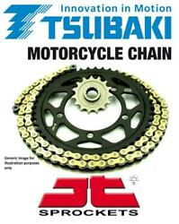 Tsubaki Sigma Gold X-ring Chain And Jt Sprockets For Triumph 900 Trophy 96-97