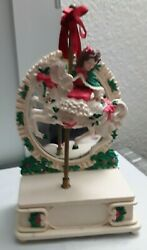 House Of Lloyd Christmas Around The World Music Box With Horse And Mirror