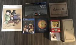 Shenmue 3 Iii Ps4 Kickstarter Set - Game Cover Signed Art T-shirt Toy Capsules