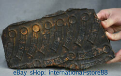 10.4 Rare Old China Hongshan Culture Meteoric Iron Knife-shaped Coin Statue