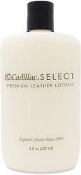 Cadillac Select Leather Lotion Cleaner And Conditioner- For Handbags Sofas And