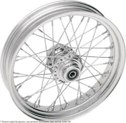 Roue Arriandegravere 17x6 40 Rayons Chrome - Harley Davidson Softail - Drag Specialties