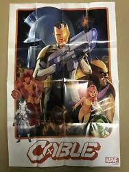 Cable 1 Dawn Of X - Marvel Promo Poster New Phil Noto - Wolverine X-men