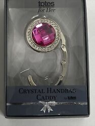 Totes for Her Crystal Handbag Caddy Perfect Gift NEW $9.99