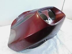 1998-2013 Harley Davidson Fltr Road Glide Red Plastic Outer Fairing Cowling Cowl