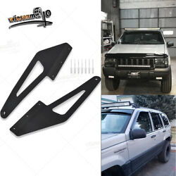 Fit 93-98 Jeep Grand Cherokee Zj 50and039and039 Led Light Bar Over Roof Mounting Brackets