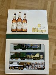 Bitburger German Truck Model Gift Lot Of 3 Extremely Limited Edition Olympic Bar