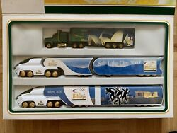 Bitburger Champion German Truck Model Gift Lot Of 3 Limited Edition Olympic Game
