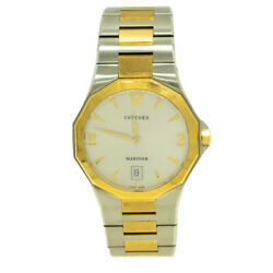 Concord 0311393 Mariner 40mm Two Toned White Dial Watch