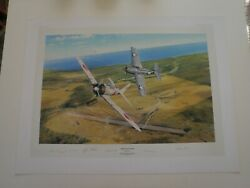 Rob Taylor Zero Encounter Sign 2 Us And 2 Japanese Aces W/coa /flyer 118/1250