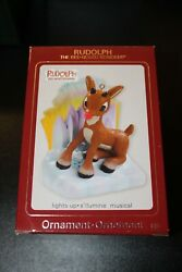 Carlton Cards Ornament Rudolph The Red Nosed Reindeer Misfits Musical Lights Mib