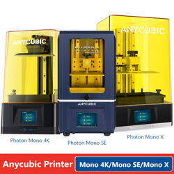 Anycubic Sla Lcd Resin 3d Printer Photon Mono / Se / Mono X / Wash And Cure 2.0