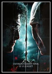Harry Potter And The Deathly Hallows - Original French Movie Poster 47x63 In
