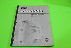 New 2002 Johnson Outboard Sn 4 Stroke 9.9 And 15 Service Manual P/n 5005470