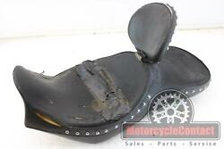 97 1997 Shadow Ace 1100 Corbin Front Rear Seat Pad Driver Back Drivers Saddle