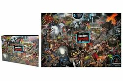 Call Of Duty Zombies 1000 Piece Jigsaw Puzzle 10 Year Anniversary