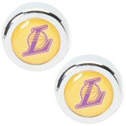 Los Angeles Lakers License Plate Screw Cap Covers