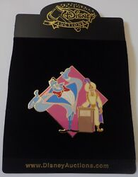 Disney Auctions Pin Genie Of The Lamp Game Show Host Ali Aladdin Le 100