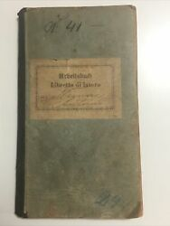 1911 City Of Pula Croatia Arbeitsbuch Work Papers Book Unresearched