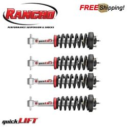 Rancho Quicklift Front And Rear Strut Assemblies Shocks For 03-06 Ford Expedition