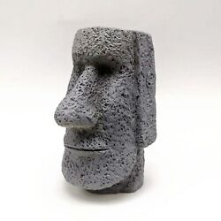 Silicone Mold Easter Island Stone Statue Used Concrete Making Model Candle Tool