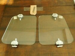 1933 1934 1935 1936 Nos Accessory Wind Wings Pair Ford Chevrolet