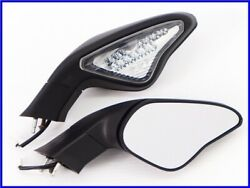 2009 848 Led Built-in Turn Signal Genuine Right And Left Mirror Set 1098 1198 Uuu