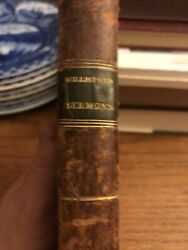 Williston Sermons On Doctrinal And Experimental Subjects 1812 Leather Bound