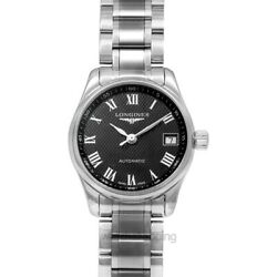 Longines The Longines Master Collection L21284516 Black Dial Ladyand039s Watch