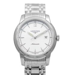 Longines The Longines Saint-imier L27664796 Silver Dial Menand039s Watch Genuine