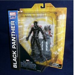 Diamond Select Toys Marvel Select Black Panther Movie Action Figure 4 Magazines