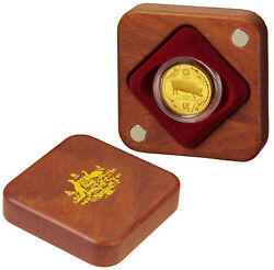 2007 10 Gold Proof Coin Year Of The Pig Lunar Series Royal Aus Mint Coa 267