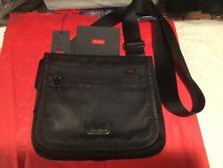 "Tumi Small Flap Crossbody 10"" X 11.5"" X 1.2"" Bag $39.00"